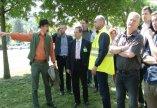 Javában folynak az árvízvédelmi beruházás kivitelezési munkálatai