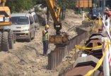 Gőzerővel folynak az árvízvédelmi beruházás első szakaszának kivitelezési munkálatai